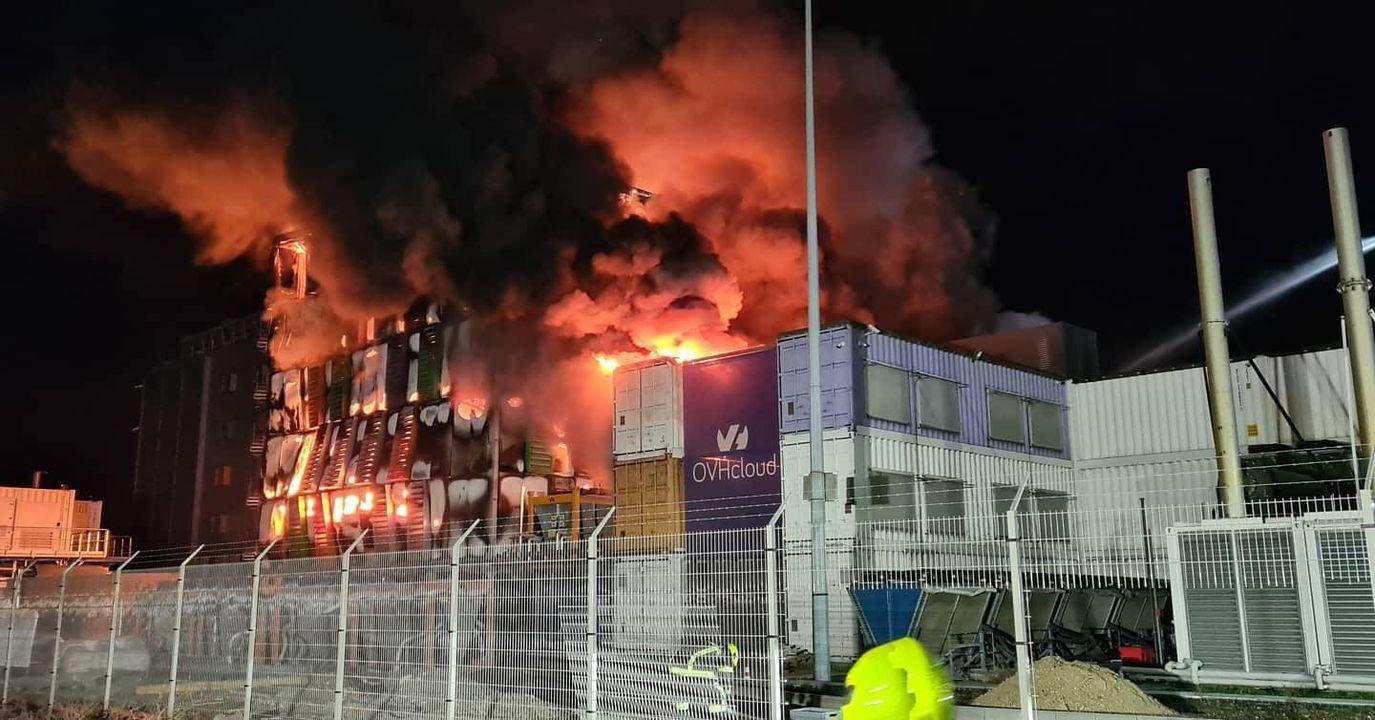 OVH data center incendie