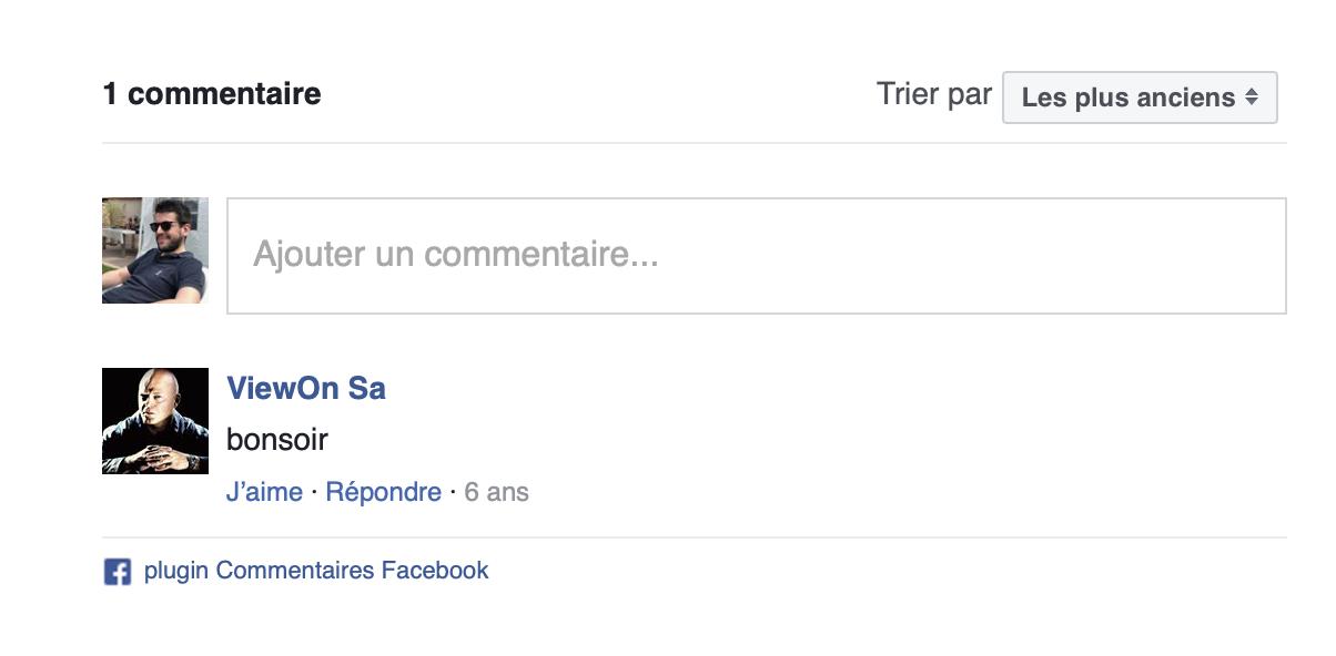 Plugin Facebook Comments