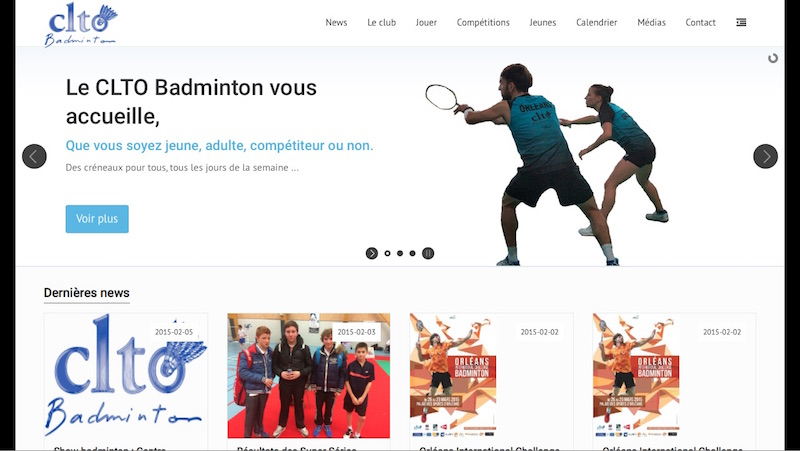 CLTO Badminton Vitrine